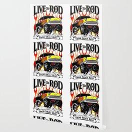 Kellys 57 - Live To Rod Wallpaper