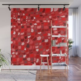 Red Wine Date Wall Mural