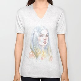 Fading Away Unisex V-Neck