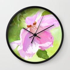 Apple Blossom Three Wall Clock
