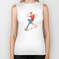 sneakers Biker Tanks featuring Electric sneakers by Earl Grey Warden