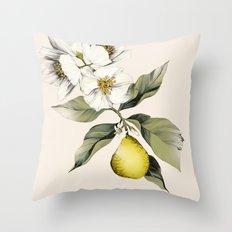 Jasmin & Bergamot Throw Pillow