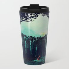 Deep in the forest Metal Travel Mug