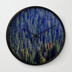 Drink the Wild Air Wall Clock