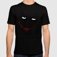 Why so serious? SMALL Black Mens Fitted Tee