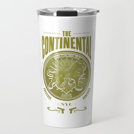 John Wick Continental Hotel Travel Mug