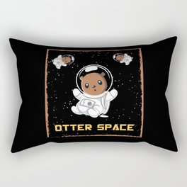 Otter Space Otter Animal Cute Space Rectangular Pillow