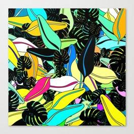Deep Jungle 2 Canvas Print