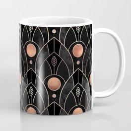 Art Deco Leaves / Version 3 Coffee Mug