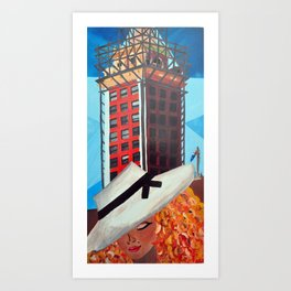 Freedom Tower Art Print