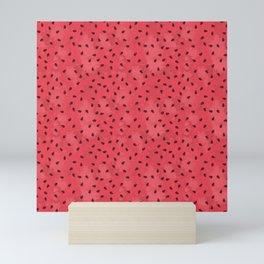 Watermelon Seeds Mini Art Print