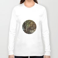 psychadelic Long Sleeve T-shirts featuring Psychadelic Tree by Jeanne Hollington