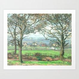 "Camille Pissarro ""Near Sydenham Hill"" Art Print"