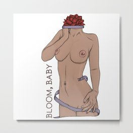 Bloom, Baby Metal Print