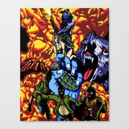 WARWOLF Canvas Print