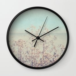 Waste Away With Me Wall Clock