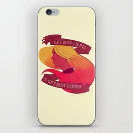 Get Busy iPhone Skin