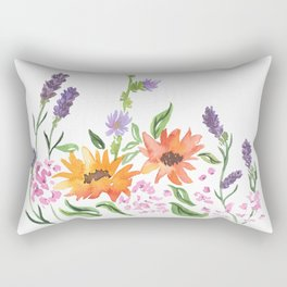 Flowers from Jedburgh Abbey Rectangular Pillow