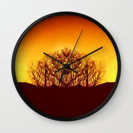 Clone Forest Wall Clock