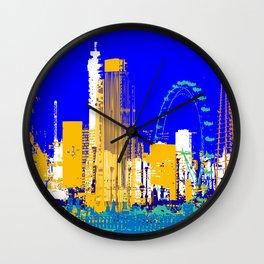 leaving london 23.34 Wall Clock