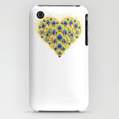 Peacock Heart Slim Case iPhone (3g, 3gs)