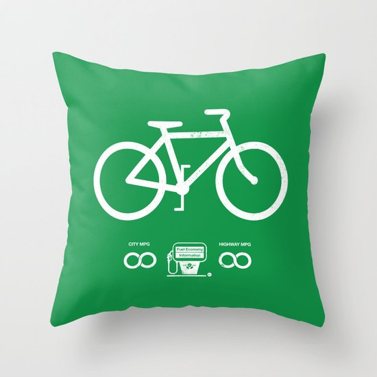 Infinity MPG (Society6 Edition) Throw Pillow