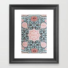 Paisly Prints Framed Art Print