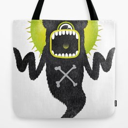 SALVAJEANIMAL ghost Tote Bag