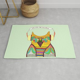 The Owl rustic song Rug