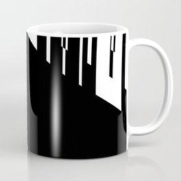 B & W lined up Coffee Mug