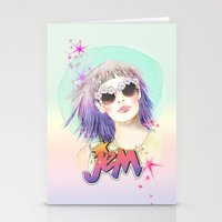 hologram Stationery Cards featuring J.E.M.✭✭✭✭✭ by Sara Eshak