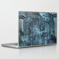 gothic Laptop & iPad Skins featuring Gothic by nicky2342