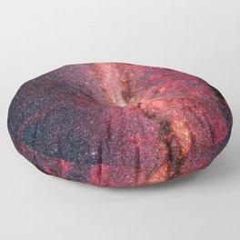 Milky Way Galaxy Floor Pillow