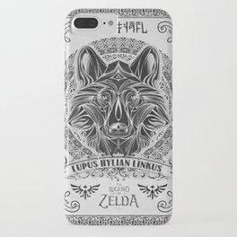 Legend of Zelda Twilight Wolf Link Line Art iPhone Case