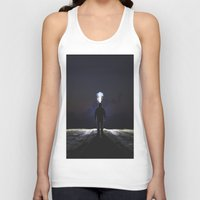 jack frost Tank Tops featuring Frost by Tanner Albert