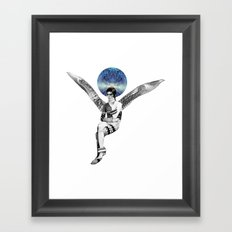 DAVID BOWIE ANGEL Framed Art Print