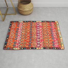 N120 - Fresh Bohemian Traditional Moroccan Style Artwork. Rug