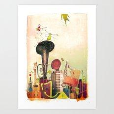 favellas en folies Art Print