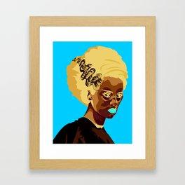 Madam Frankenstein  Framed Art Print