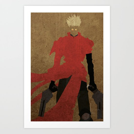 Vash the Stampede Art Print