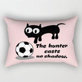 Cat Football Rectangular Pillow
