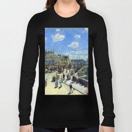 Auguste Renoir Pont Neuf, Paris Long Sleeve T-shirt