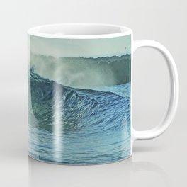 Wedge Blue Crystal Coffee Mug