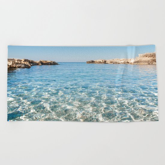 Island Stories I Beach Towel
