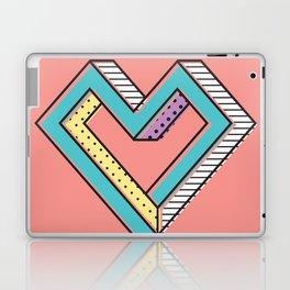le coeur impossible (nº 2) Laptop & iPad Skin