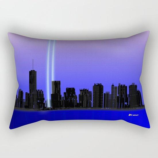 New York New York - Remembering Rectangular Pillow