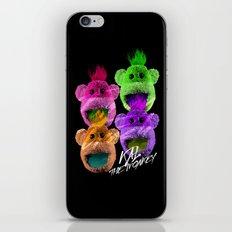 Kal the Monkey - Kal Warhol iPhone & iPod Skin