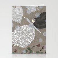 sia Stationery Cards featuring Summer's End by Judith Clay