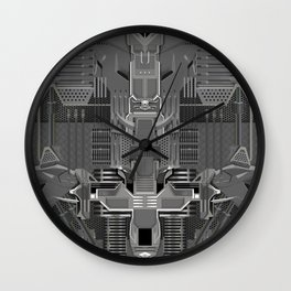 post organic Wall Clock