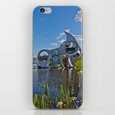 Falkirk Wheel iPhone & iPod Skin